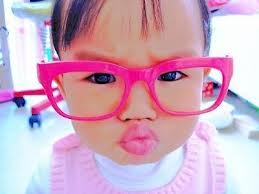 pinterest pink glasses baby