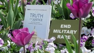 The flowers of spring in Washington D.C. where we photographed images of our mission to storm Capitol Hill on behalf of Military Sexual Trauma victims.