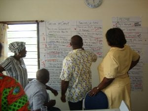 Giving Permission for Others to Find Their Voice...Staff at Street Girl's Aid in Gnana, Accra
