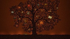 Drawn_wallpapers_Tree_of_books_007325