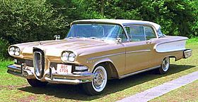 1958 Edsel.  Arguably Ford's biggest mistake.