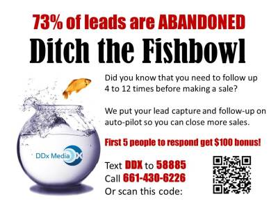 Ditchthe Trade Show Fishbowl