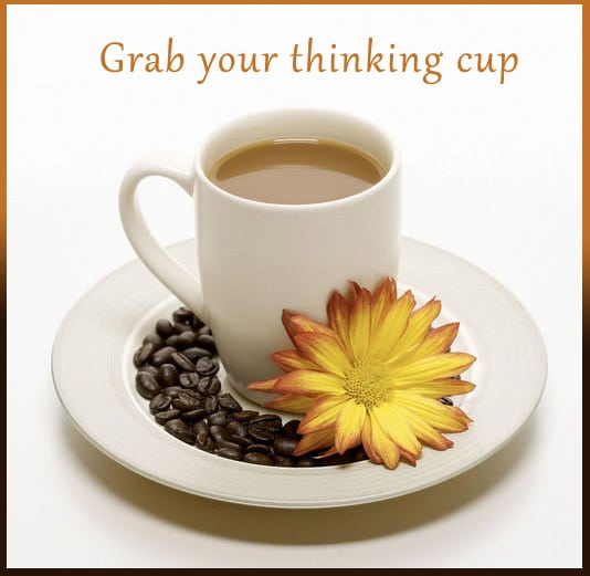 Grab your thinking cup - Training-advertisement4