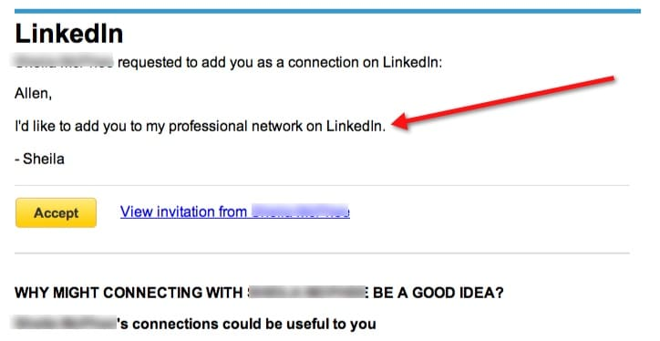Your linkedin invitations personalize them first impressions image of linkedin invitation stopboris Image collections