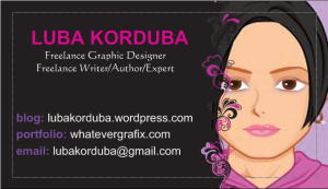 My current business card