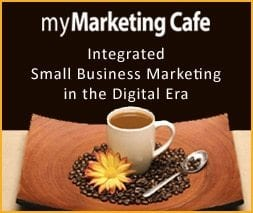 Training advertisement4 - Coffee cup and flower surrounded by coffee beans on saucer.