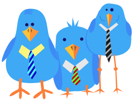 Twitter Suits3 - Twitter: Networking & Professionalism