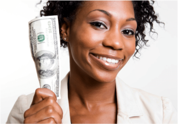m1 - Woman-with-money