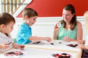 Teach letter recognition with a fun, interactive game you can play day after day!