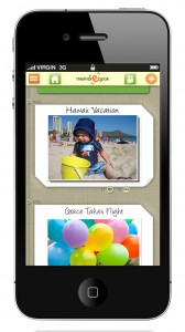 The memorEbook iPhone app is the easiest way to capture life's greatest moments while on the go!