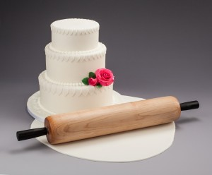Our premier rolling pin, The Caketrick Fondant Roller
