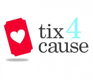 Tix4cause: Turning unused tickets & events into cash donations for charity