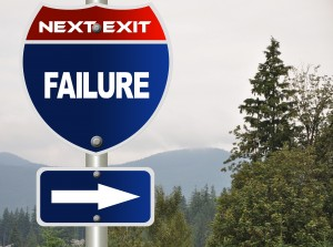 Failure-road-sign