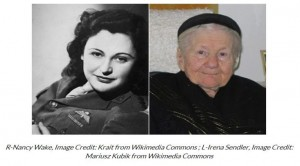 Nancy-Wake-and-Irena-Sendler