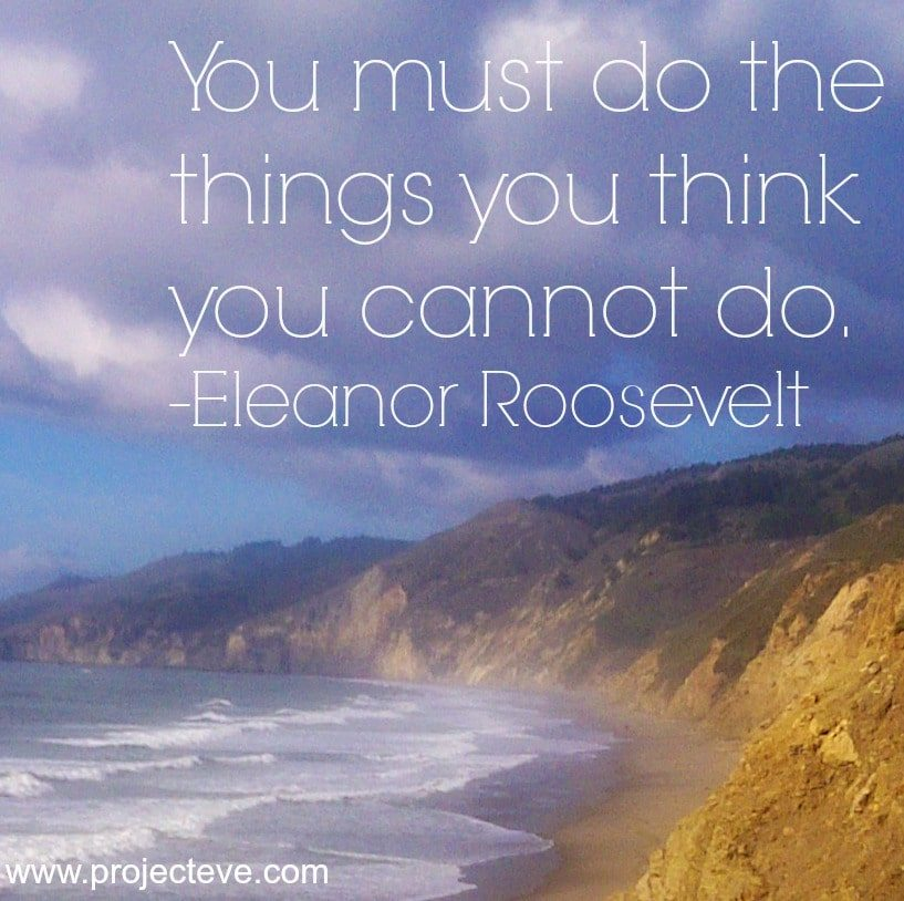 do what cannot roosevelt - talent barbara francis
