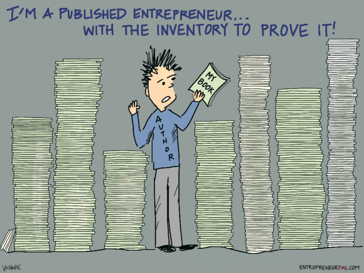 #entrepreneurfail Published Author Inventory
