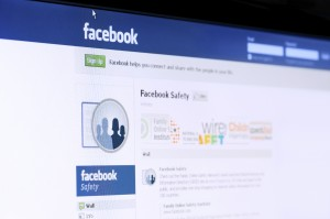 PALO ALTO ? FEBRUARY 2: Facebook safety page photo. Facebook privacy safety concerns US Congress which sends to Facebook a letter on privacy issues. Facebook is a world largest social network and holds data of about 500 million people as for February 2, 2011 in Palo Alto, California, USA.