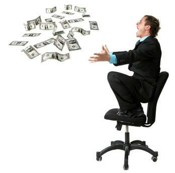 Excited man with money - images-1
