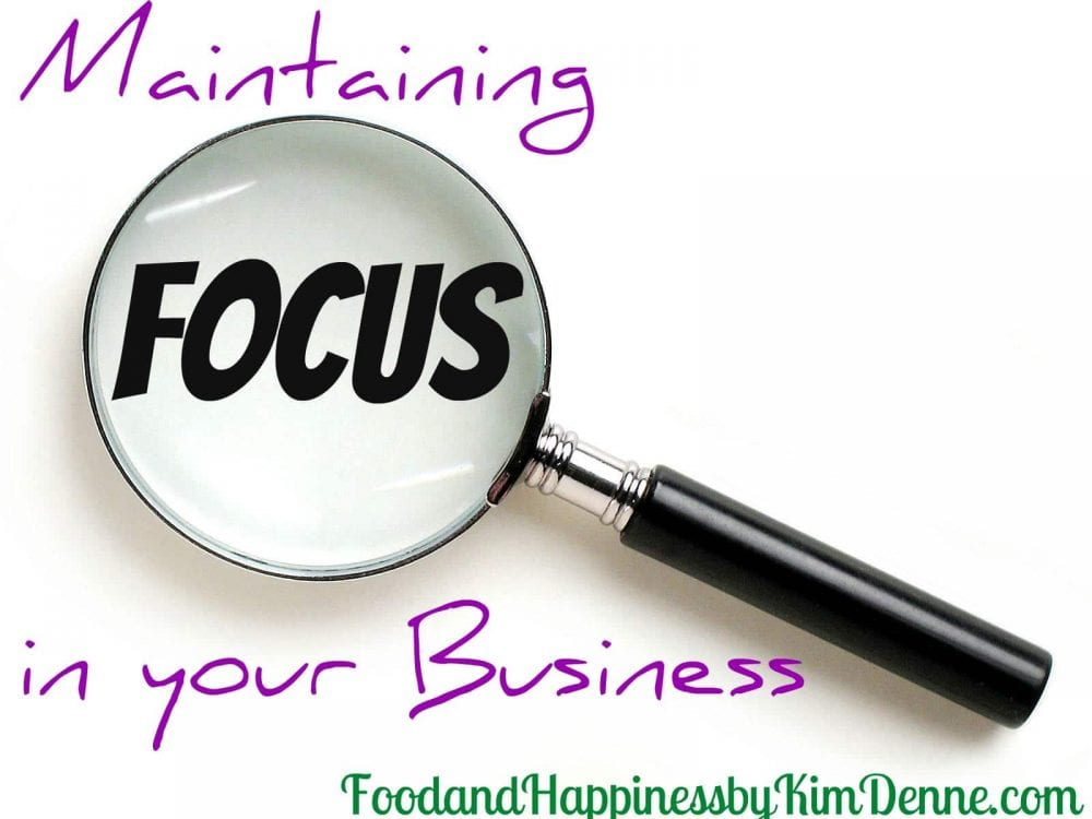 Maintaining Focus in your Direct Sales Business