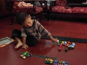 Matchbox cars are popular with boys of all ages.