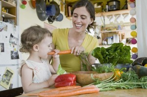 Eating healthy is good for you and baby too!