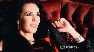 L'Wren Scott (courtesy Reuters.com)