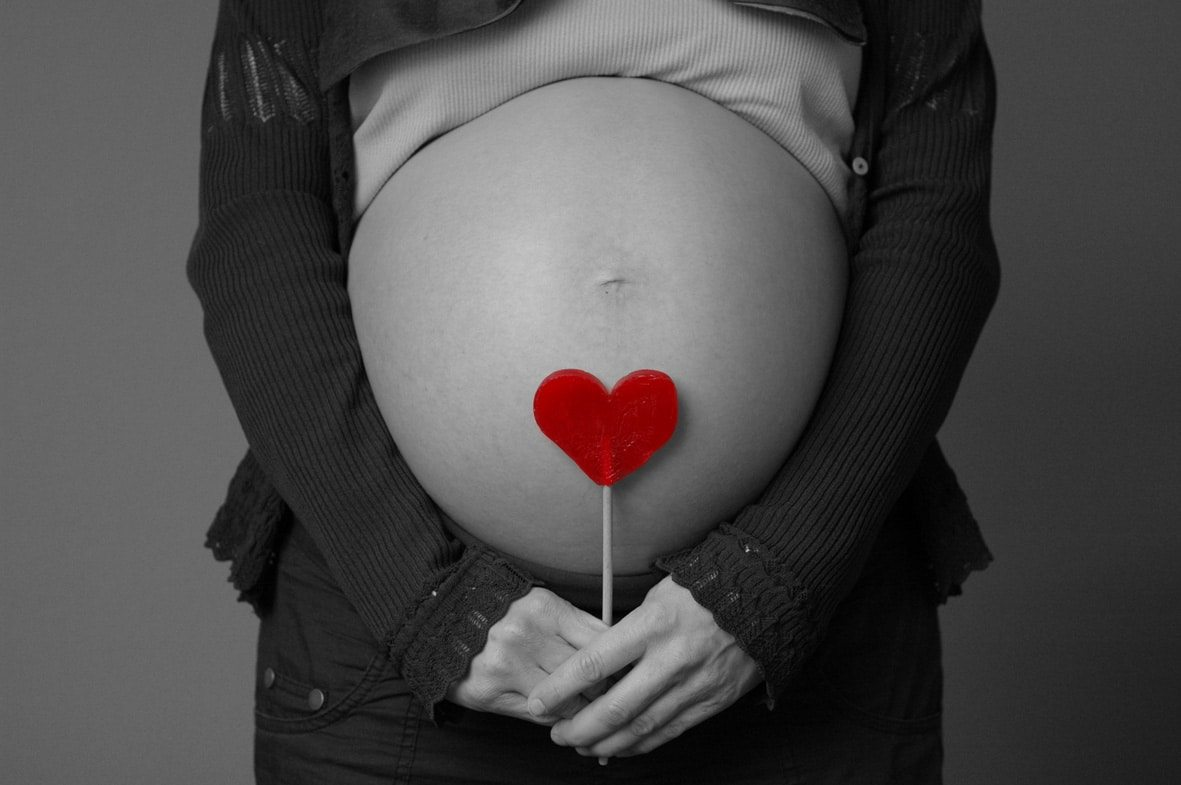 Pregnant Heart - How-Love-Your-Pregnant-Post-Pregnant-Body