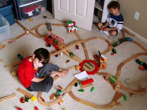 Trains and Boys - Boys and Cars