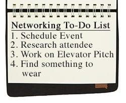 Networking To-Do List