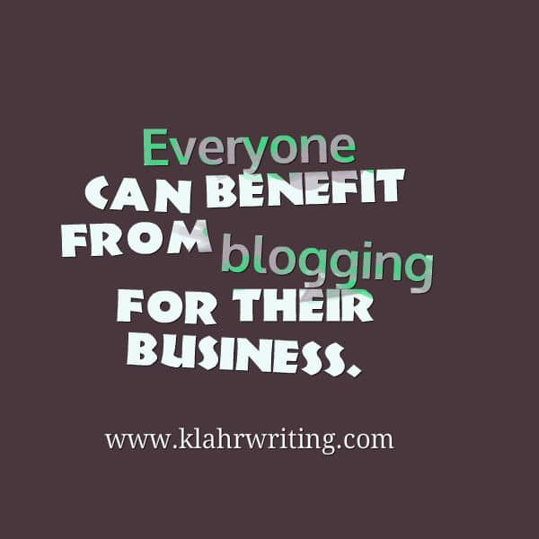 6 Reasons to Start Blogging for Your Business