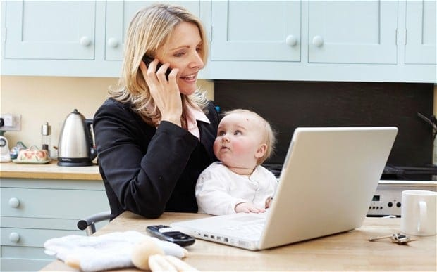 Super Moms: Keeping Up in the Workplace and the Home