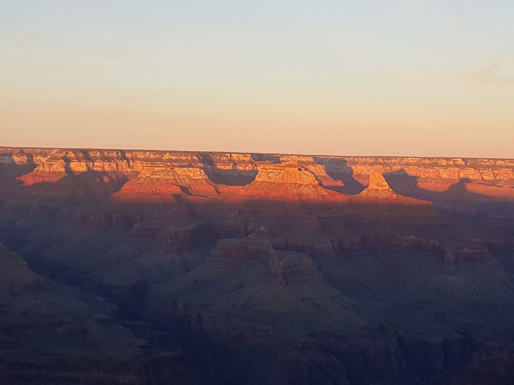 Grand Canyon at Sunset with the Galaxy Note 5