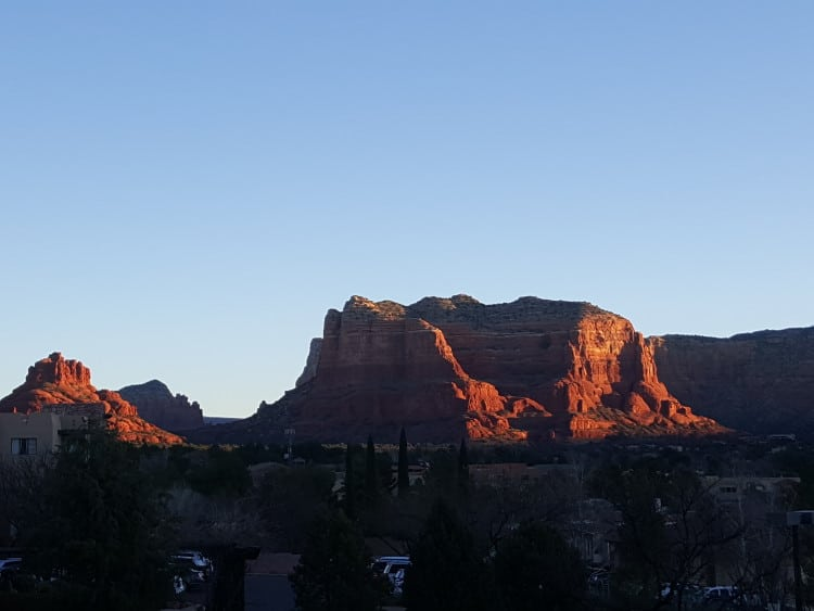 Sedona Sunrise on the Samsung Galaxy Note5
