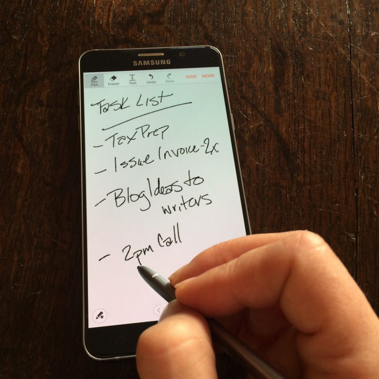 Notes on the Galaxy Note5