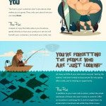 website losing customers infographic