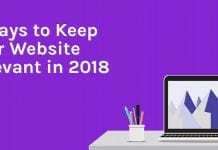 Best ways to keep the website relevant.