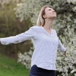 Fotolia 142125349 S 1 150x150 - Freedom concept. Free Happy Woman Enjoying in Nature. Breathing fresh air